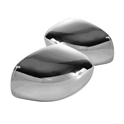 Charger - Mirrors - Spyder - Dodge Charger Spyder Mirror Cover - Chrome - CA-MC-C300C04