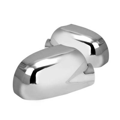 Envoy - Mirrors - Spyder - GMC Envoy Spyder Mirror Cover - Chrome - CA-MC-CTB05
