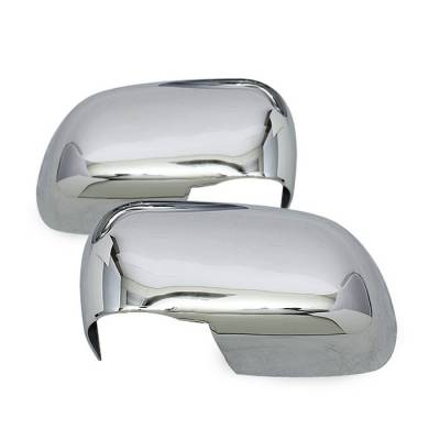 Dakota - Mirrors - Spyder - Dodge Dakota Spyder Mirror Cover - Chrome - CA-MC-DD04