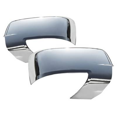 Ram - Mirrors - Spyder - Dodge Ram Spyder Chrome Mirror Cover - CA-MC-DR09