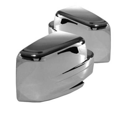 Nitro - Mirrors - Spyder - Dodge Nitro Spyder Mirror Cover - Chrome - CA-MC-JP07