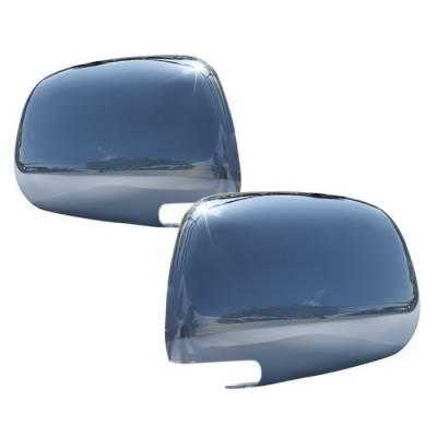 Tacoma - Mirrors - Spyder - Toyota Tacoma Spyder Mirror Cover - Chrome - CA-MC-TTA05