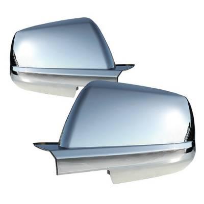 Tundra - Mirrors - Spyder - Toyota Tundra Spyder Mirror Cover - Chrome - CA-MC-TTU07