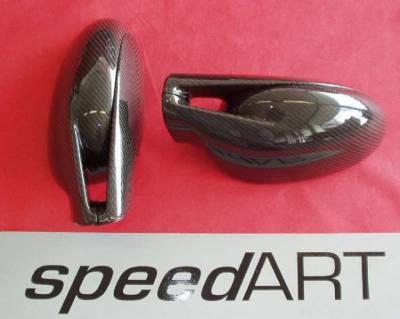 SpeedArt - Black/Grey carbon Fiber Mirror