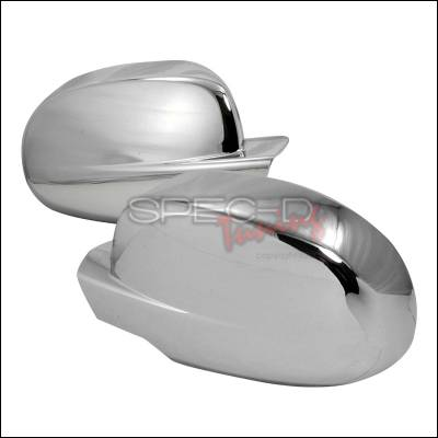 Avalanche - Mirrors - Spec-D - Chevrolet Avalanche Spec-D Side Mirror Cover - Chrome - RMC-AVA07CR