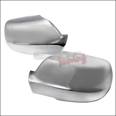 Grand Cherokee - Mirrors - Spec-D - Jeep Grand Cherokee Spec-D Side Mirror Cover - Chrome - RMC-GKEE05CR