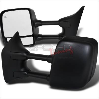 Titan - Mirrors - Spec-D - Nissan Titan Spec-D Heated Towing Mirrors - Power - RMX-TIT04H-P-FS