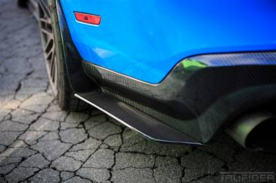 Mustang - Mirrors - TruFiber - Ford Mustang TruFiber Carbon Fiber LG56 Rear Diffuser TC10025-LG56