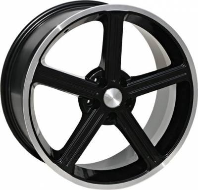 Steeda - Ford Mustang Steeda Black Ultra Lite Wheel