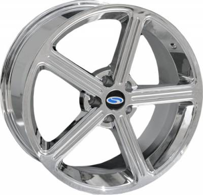 Steeda - Ford Mustang Steeda Chrome Steeda Ultra Lite Wheel