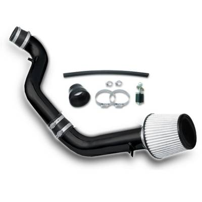 Air Intakes - OEM - Spyder - Honda Prelude Spyder Cold Air Intake with Filter - Black - CP-405BLK