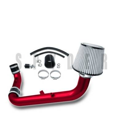 Air Intakes - OEM - Spyder - Mitsubishi Eclipse Spyder Cold Air Intake with Filter - Red - CP-430R