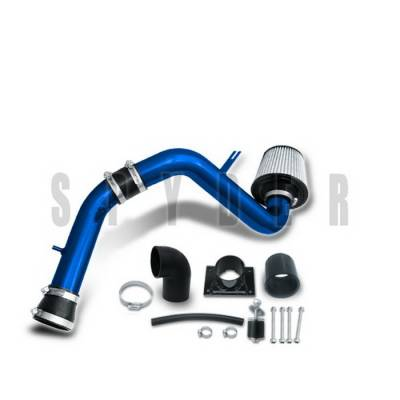 Air Intakes - OEM - Spyder Auto - Mitsubishi Eclipse Spyder Cold Air Intake with Filter - Blue - CP-433B