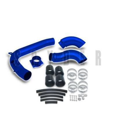 Air Intakes - OEM - Spyder - Nissan 240SX Spyder Cold Air Intake with Filter - Blue - CP-440B
