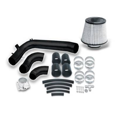 Air Intakes - OEM - Spyder - Nissan 240SX Spyder Cold Air Intake with Filter - Black - CP-440BLK