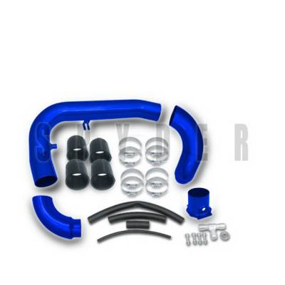 Air Intakes - OEM - Spyder Auto - Nissan 240SX Spyder Cold Air Intake with Filter - Blue - CP-441B
