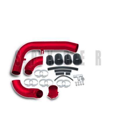 Air Intakes - OEM - Spyder - Nissan 240SX Spyder Cold Air Intake with Filter - Red - CP-442R