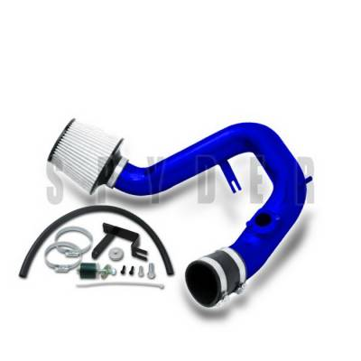 Air Intakes - OEM - Spyder Auto - Toyota Matrix Spyder Cold Air Intake with Filter - Blue - CP-466B