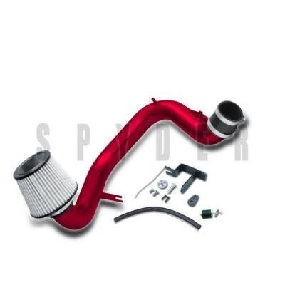 Air Intakes - OEM - Spyder - Toyota Matrix Spyder Cold Air Intake with Filter - Red - CP-469R