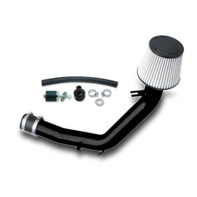 Air Intakes - OEM - Spyder - Volkswagen Jetta Spyder Cold Air Intake with Filter - Black - CP-493BLK