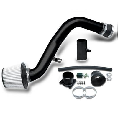 Air Intakes - OEM - Spyder - Nissan Altima Spyder Cold Air Intake with Filter - Black - CP-545BLK
