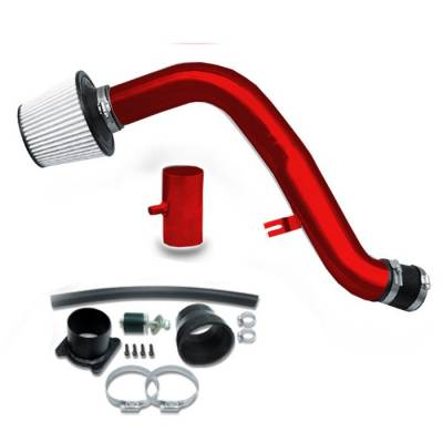 Air Intakes - OEM - Spyder - Nissan Altima Spyder Cold Air Intake with Filter - Red - CP-545R
