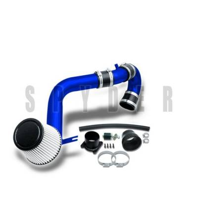 Air Intakes - OEM - Spyder - Nissan Altima Spyder Cold Air Intake with Filter - Blue - CP-546B