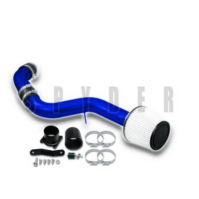 Air Intakes - OEM - Spyder Auto - Nissan 350Z Spyder Cold Air Intake with Filter - Blue - CP-547B
