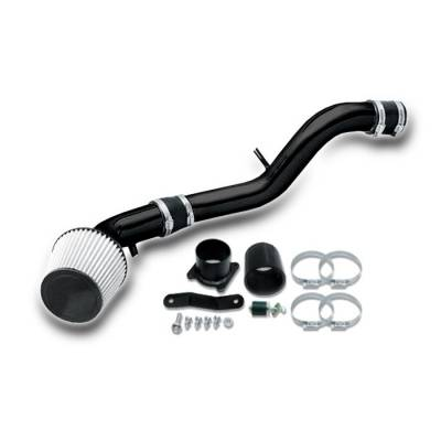 Air Intakes - OEM - Spyder - Nissan 350Z Spyder Cold Air Intake with Filter - Black - CP-547BLK