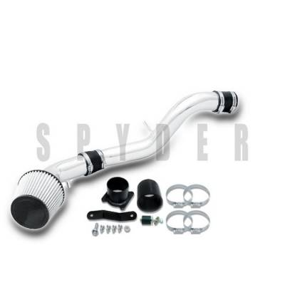 Air Intakes - OEM - Spyder - Nissan 350Z Spyder Cold Air Intake with Filter - Polish - CP-547P