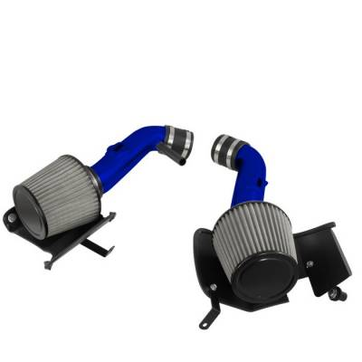 Air Intakes - OEM - Spyder - Nissan 350Z Spyder Cold Air Intake with Filter - Blue - CP-677B
