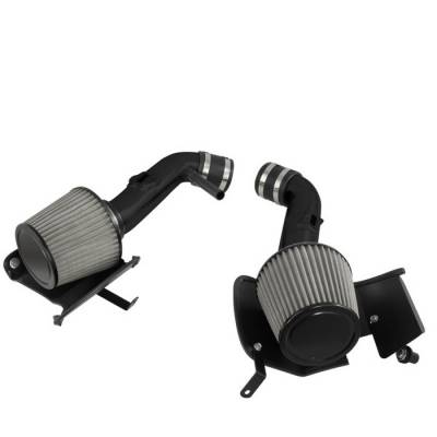 Air Intakes - OEM - Spyder - Nissan 350Z Spyder Cold Air Intake with Filter - Black - CP-677BLK