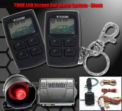 C Class - Car Alarm Systems - Thor - Mercedes Benz LCD Car Alarm System - Universal