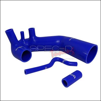 Performance Parts - Performance Accessories - Spec-D - Audi A4 Spec-D Induction Hose - Blue - RAH-S01-1064-LX