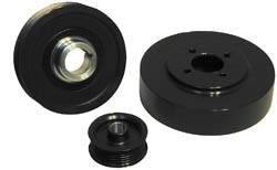 Performance Parts - Pulleys - Steeda - Ford Mustang Steeda Underdrive Pulleys - 16092