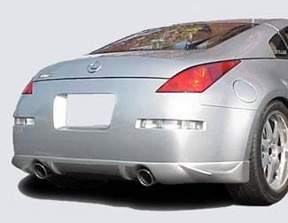 350Z - Rear Add On - Street Scene - Nissan 350Z Street Scene Generation 1 Rear Valance - 950-70324