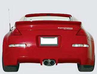 350Z - Rear Add On - Street Scene - Nissan 350Z Street Scene Generation 2 Rear Valance - 950-70325