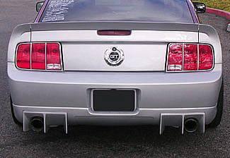 Mustang - Rear Add On - Street Scene - Ford Mustang Street Scene Generation Rear Valance - 950-70767