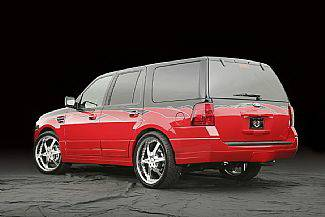 Expedition - Rear Add On - Street Scene - Ford Expedition Street Scene Rear Bumper Valance - 950-70838