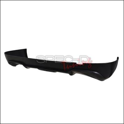 3 Series 2Dr - Rear Add On - Spec-D - BMW 3 Series 2DR Spec-D Rear Lip - Polyurethane - LBR-E9207AC-PU