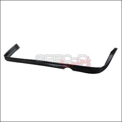 Civic 4Dr - Rear Add On - Spec-D - Honda Civic 2DR & 4DR Spec-D Type R Style Rear Lip - Polyurethane - LPR-CV994T-PU