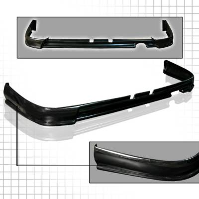 Spec-D - Acura Integra Spec-D ABS Plastic Rear Lip - LPR-INT94T-ABS