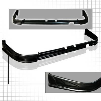Spec-D - Acura Integra Spec-D ABS Plastic Rear Lip - LPR-INT98T-ABS