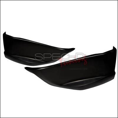 TC - Rear Add On - Spec-D - Scion tC Spec-D Rear Lip - Polyurethane - LPR-TC04-PU
