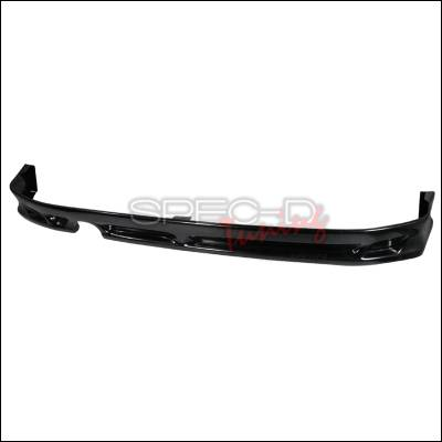 XB - Rear Add On - Spec-D - Scion xB Spec-D ABS Plastic Rear Lip - LPR-XB03-ABS
