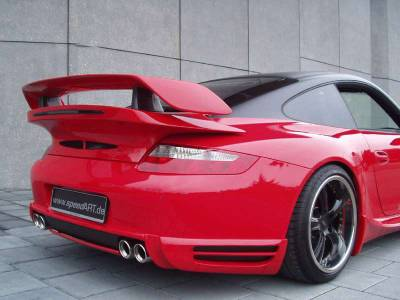 Body Kits - Rear Lip - SpeedArt - BTR Rear Diffusor