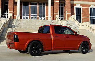 Suv Truck Accessories - Roll Pans - Street Scene - Dodge Ram Street Scene Roll Pan - Urethane - 950-70504