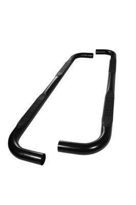 Spyder Auto - Chevrolet Avalanche Spyder 3 Inch Round Side Step Bar - Polished T-304 Stainless Steel - SSB-CS-A07S0404T