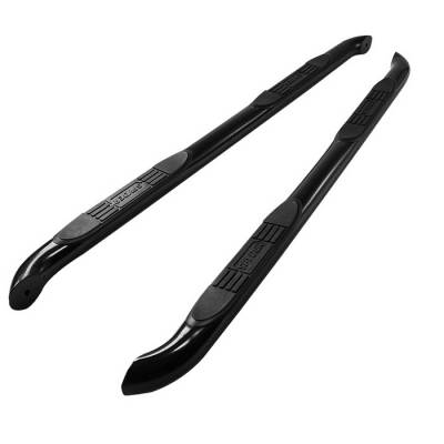 Suv Truck Accessories - Running Boards - Spyder Auto - Jeep Grand Cherokee Spyder 3 Inch Round Side Step Bar - Black Powder Coat - SSB-JG-A07S0917-BK