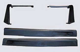 S10 - Side Skirts - Street Scene - Chevrolet S10 Street Scene Side Skirts - 950-70173